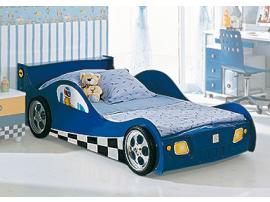 Кровать-машина F1 blue изображение 1