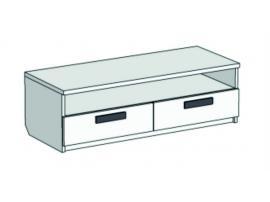 Тумба под ТВ с 2 ящиками и полкой Junior TSS-02100Q с рисунком
