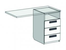 Тумба с 3 ящиками для компьютерного стола Junior TT-0235Q