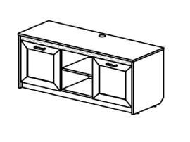 Тумба под ТВ Стрекоза (спальня) sf 312904 изображение 1