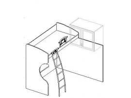 Кровать (Левая/Правая) 20.490 изображение 1