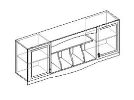 Шкаф настенный 2-х дверный. 20.071