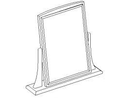 Зеркало на подставке 20.850