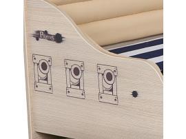 Кровать Пират №2 с высоким изножьем изображение 6