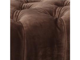 Кровать София белый лак/серый лак с мягкой спинкой изображение 9