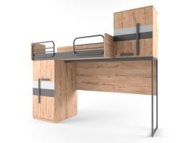Кровать-чердак малая Твист Лофт изображение 2