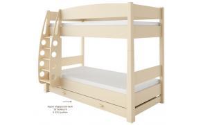 Кровать двухъярусная Ваниль