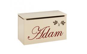 Ящик для игрушек с именем