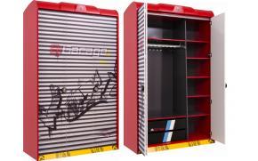 Шкаф 3-х дверный Champion Racer (1002)