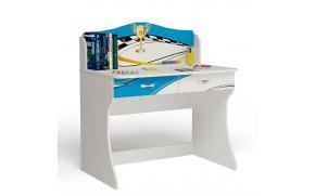 Стол без надстройки La-man (голубая)