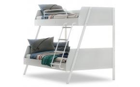 Двухъярусная кровать большая White (1408)