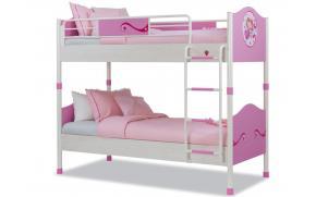 Кровать 2-х ярусная Princess 90х200 (1401)