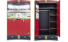 Шкаф 3-х дверный Football (1002)