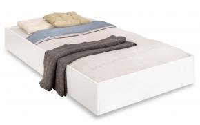 Кровать выдвижная White 90х190 (1303)