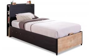 Кровать с подъемным механизмом Black 100x200 (1705)