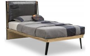 Кровать Wood Metal 100х200 (1301)