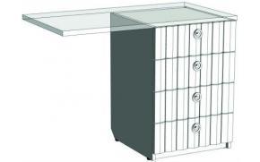 Тумба с 4-мя ящиками для компьютерного стола VT435Q Velvet