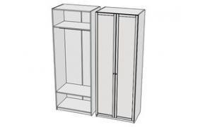 Шкаф для одежды Calypso 7CLB