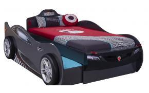 Кровать-машина c выдвижной кроватью Champion Racer Coupe 90х190/90х180 (1313)