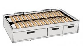Кровать с декоративной планкой BTD-3Q