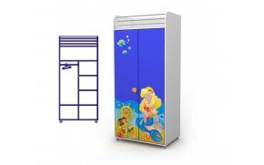 Двухдверный шкаф (русалка)