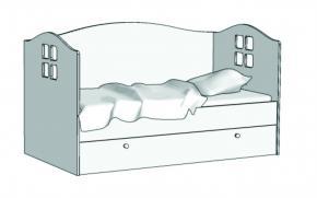 Кровать Домик (с заглушкой) KD-16Z с рисунком