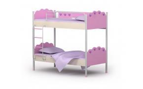 Кровать двухъярусная Pink