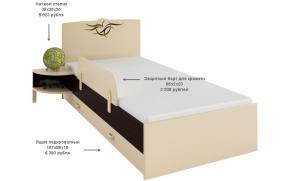 Кровать Тату