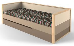 Кровать с фальшпанелью и ящиком Робин Wood