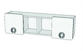 Шкаф навесной двухдверный MN4-11, MN4-12, MN4-13 MINI PRINT