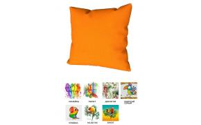 Подушка декоративная с принтом (45x45)