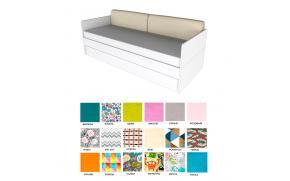 Подушки-спинки для кровати 38 попугаев