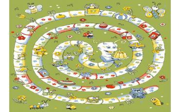 Детский развивающий ковер Sorona Joyful Playtime