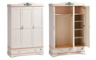 Шкаф 3-х дверный Flora (1001)