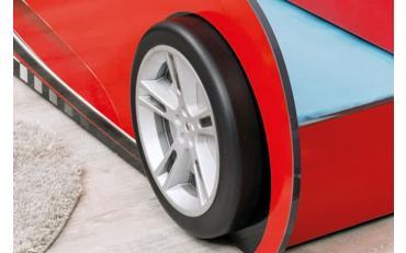 Кровать-машина c выдвижной кроватью Champion Racer Coupe 90х190/90х180 (1306) изображение 3