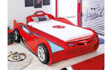 Кровать-машина c выдвижной кроватью Champion Racer Coupe 90х190/90х180 (1306) изображение 2