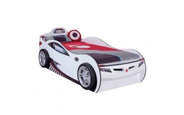 Кровать-машина c выдвижной кроватью Champion Racer 90х190/90х180 (1310) изображение 2