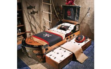 Кровать-корабль Pirate (1308) изображение 3