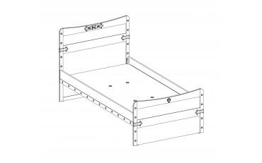 Кровать Pirate L (1314) изображение 3