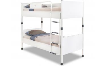 Кровать двухъярусная White 90х200 (1401) изображение 1