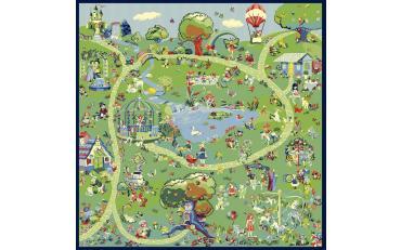 Детский развивающий ковер Sorona Creative Kids 40179 Fantasia