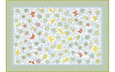 Детский развивающий ковер Sorona Joyful Flowers