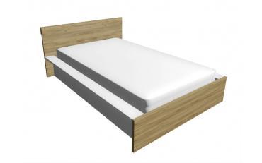 Кровать+прикроватная тумба JUNIOR (выставочный образец) изображение 2