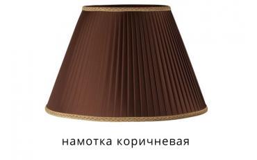 Торшер Анетто коричневый дуб с золотой патиной изображение 4