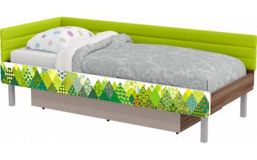 Кровать Slash Пэчворк 80*190 изображение 2