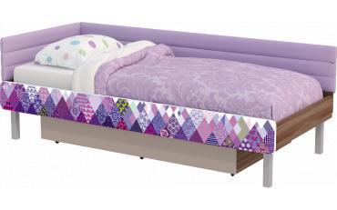 Кровать Slash Пэчворк 80*190 изображение 3