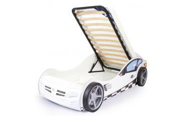 Кровать машина Formula (оранжевая) изображение 3
