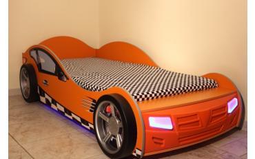 Кровать машина Formula (оранжевая) изображение 7