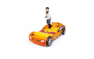Кровать машина Formula (оранжевая) изображение 5