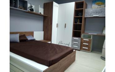 Кровать+прикроватная тумба JUNIOR (выставочный образец) изображение 1